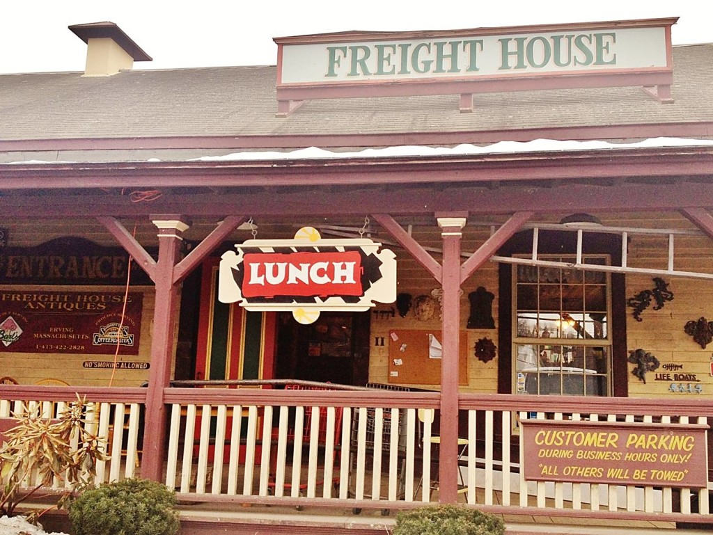 Freight House Antiques, Erving MA Restaurant Review