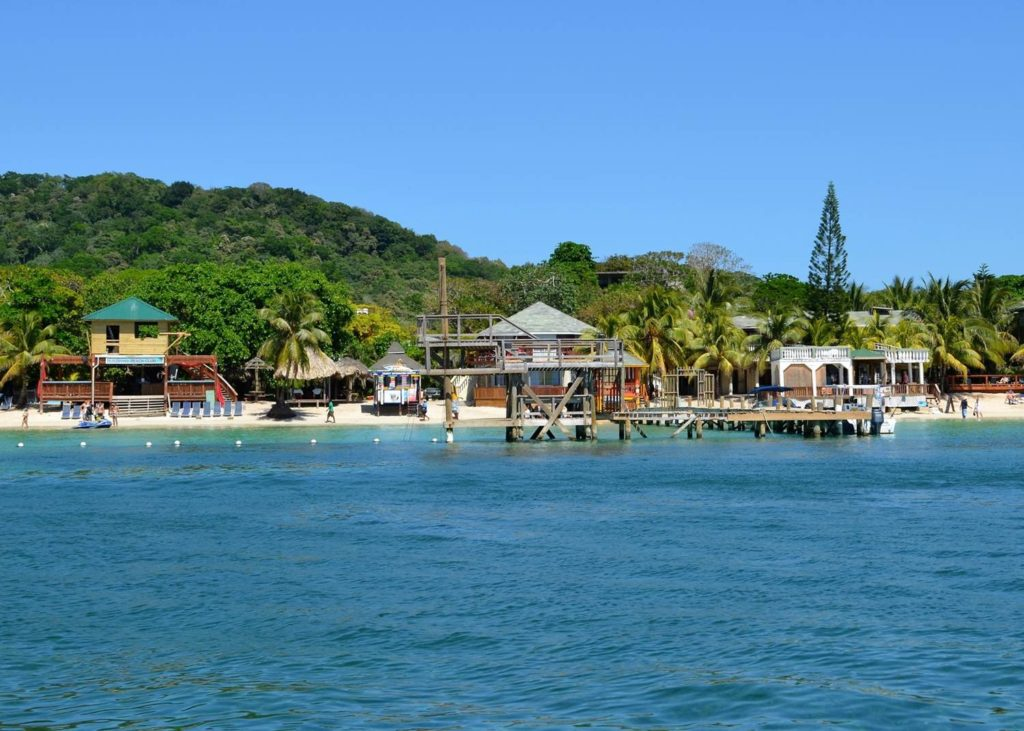 Roatan Bay Honduras with Roatan Private Trips and Tours