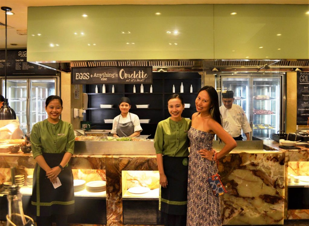 Marriott Café Manila Philippines