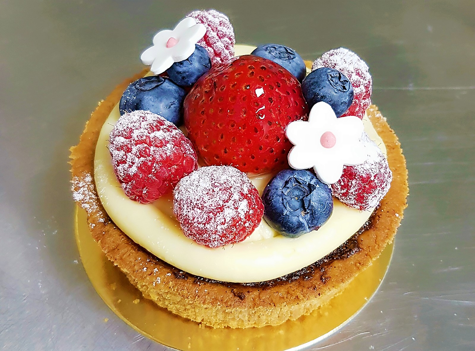 Fruit Tart with Chocolate Almond Cream_Ron's Food Trips